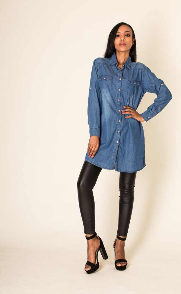 Simply Chic chemise tunique en jean
